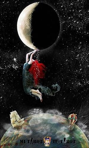 La Luna - Mi Tarot Tu Tarot