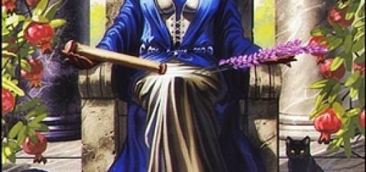 La Suma Sacerdotisa - Mi Tarot Tu Tarot