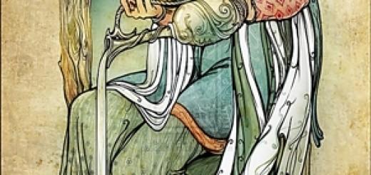 La Templanza - Mi Tarot Tu Tarot