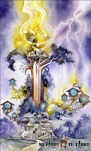 La Torre - Mi Tarot Tu Tarot